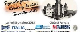 SaveThe Date Ferrara 05.10.2015